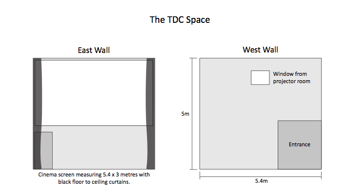 tdc floor plan