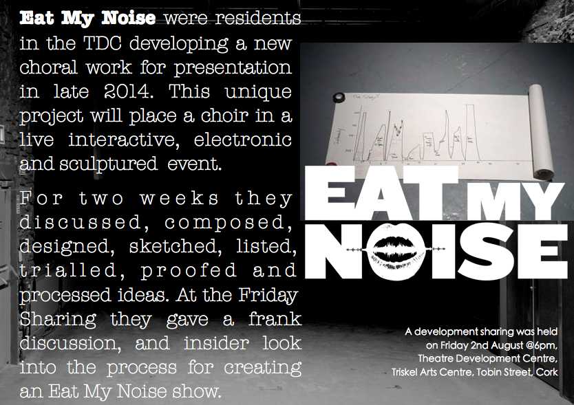 Eat My Noise August 2014